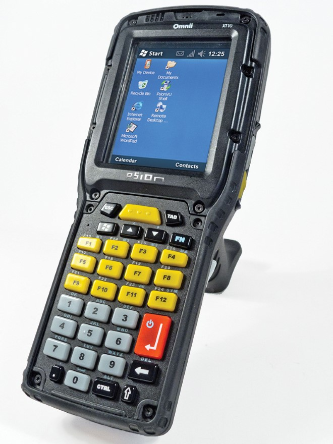 Psion Omnii XT10 Dachser press