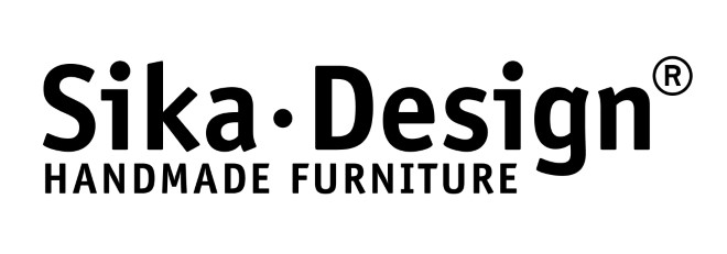 Sika Design, Handmade furniture, sort på hvid