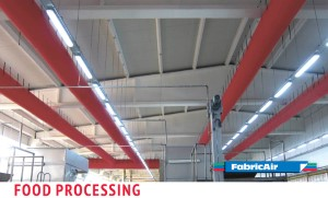 Application Food processing, FA