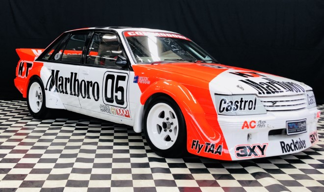 Peter Brock race car auction by Lloyds Auctioneers and Valuers