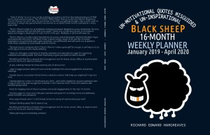 The 2019 Black Sheep Planner