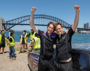 UNSW student solar car sets new efficiency world record 2