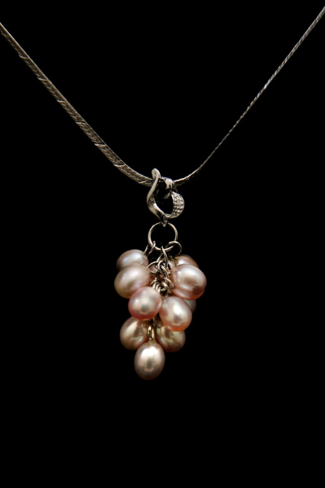 Unique Pearl Bunch Necklace 3212802