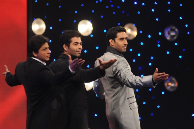 AB Jr and Karan out of step with SRK 1