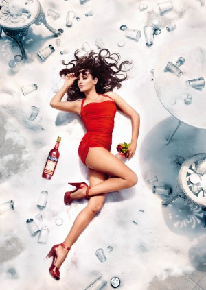 08 Campari Calendar 2013 Kiss Superstition Goodbye AUGUST