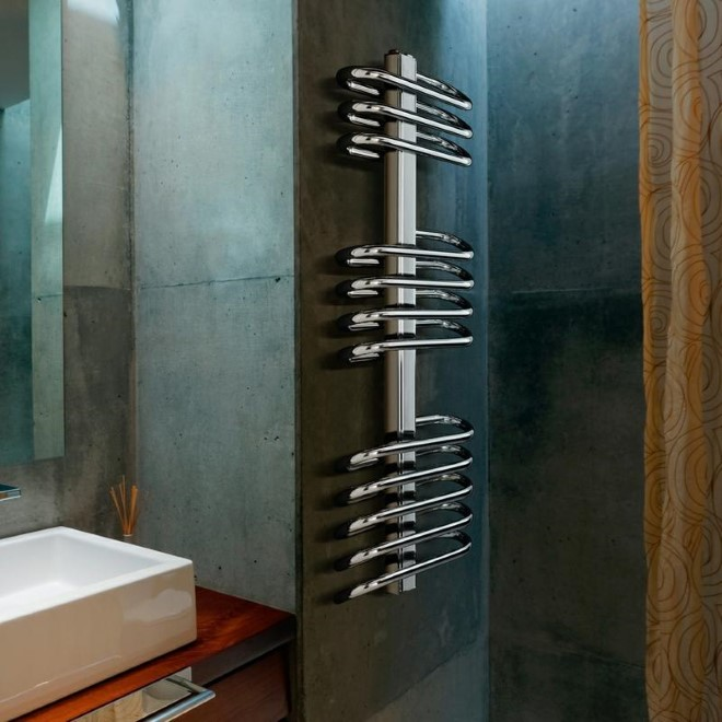 Milano Saline Heated Towel Rail