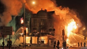 London Riots hit Retailers
