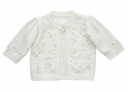Little Darlings Embroided Cardigan