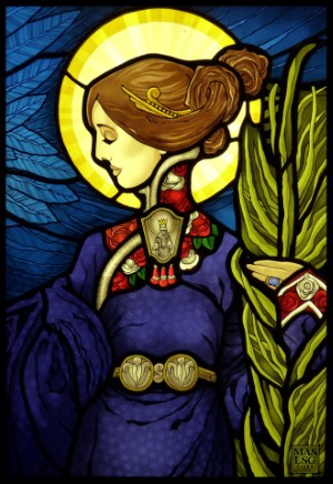 St.Cecilia Stained Glass Windows