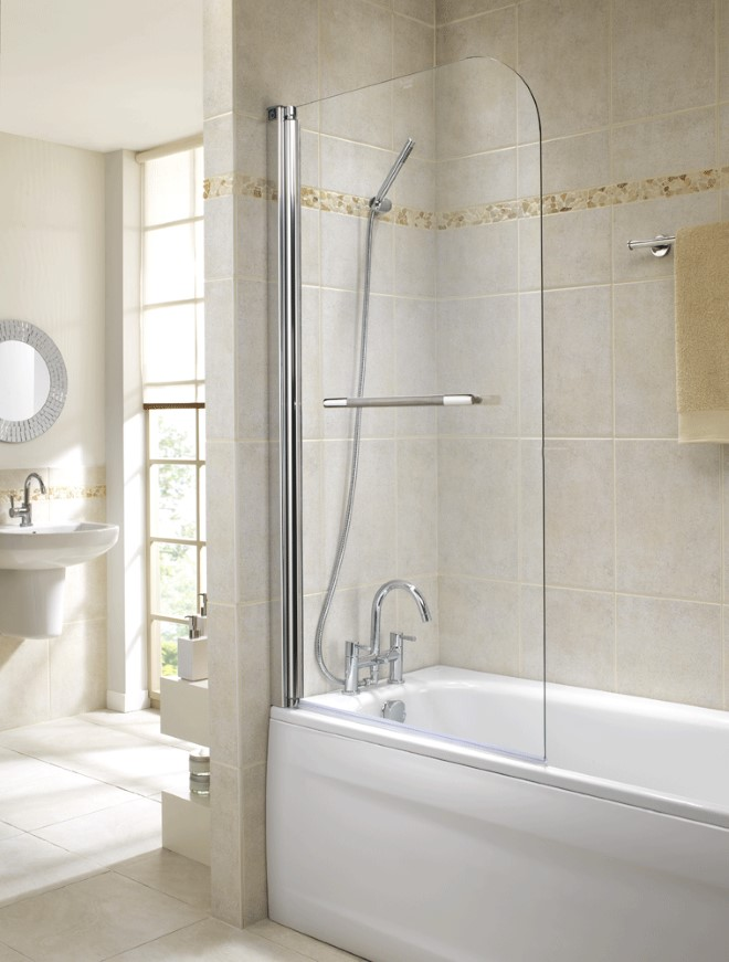GEO6 Single Panel Bath Screen