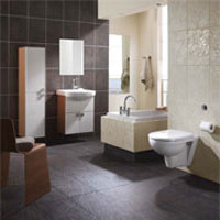 Wall Hung Bathroom Suite