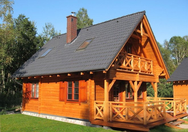 Log-Timberhouses - 94 m2