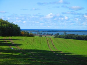 View over lake - Baltic Sea (Ostsee)
