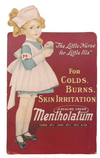 Mentholatum gl reklame Little nurse