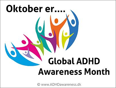 Oktober er global adhd awareness month dansk web