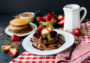 Pancake strawberry recipe wocobook 356665