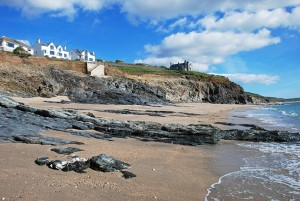 Porthleven holiday home from beach