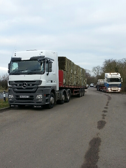 MJ May Transport - Mercedes Actros