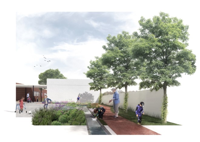 LA1 Ángels Garcia Andreu (A multi sensorial schoolyard for children with special needs)
