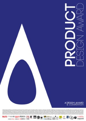 Product design award poster hires