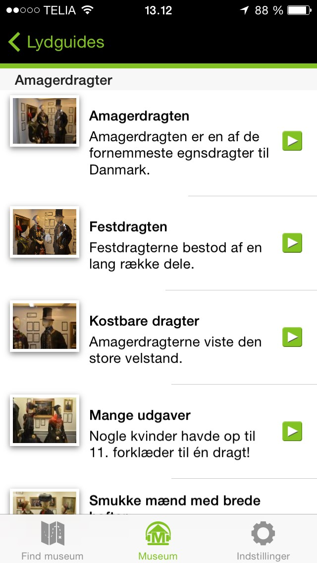 Amagermuseet lydguide