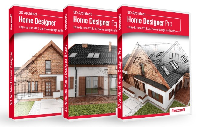 3D Architect Home Designer packshots small
