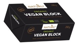 Naturli, Vegan Block, packshot UK