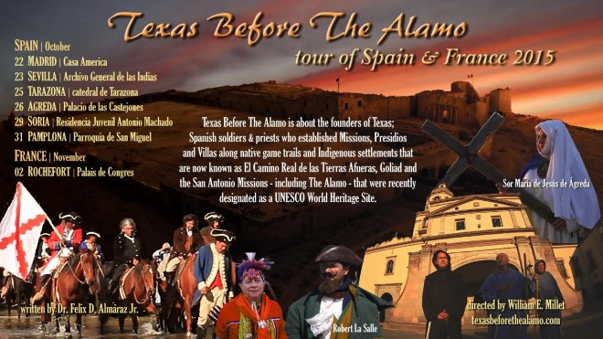 Texas before the alamo poster