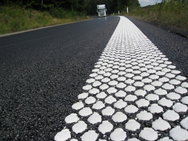 ViaTherm thermoplastic road marking material