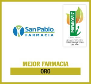 Distintivo M FARMACIA ORO