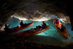 2. Kayaking underground Peca Mountain