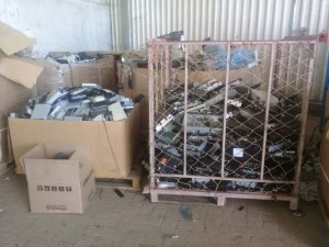 E waste sorting africa