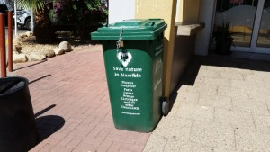 Ministry of Education Namibia - electronic waste recycling bins