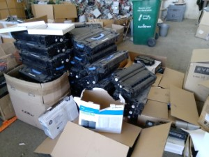 Laser printer cartridges - recycling at NamiGreen E-waste